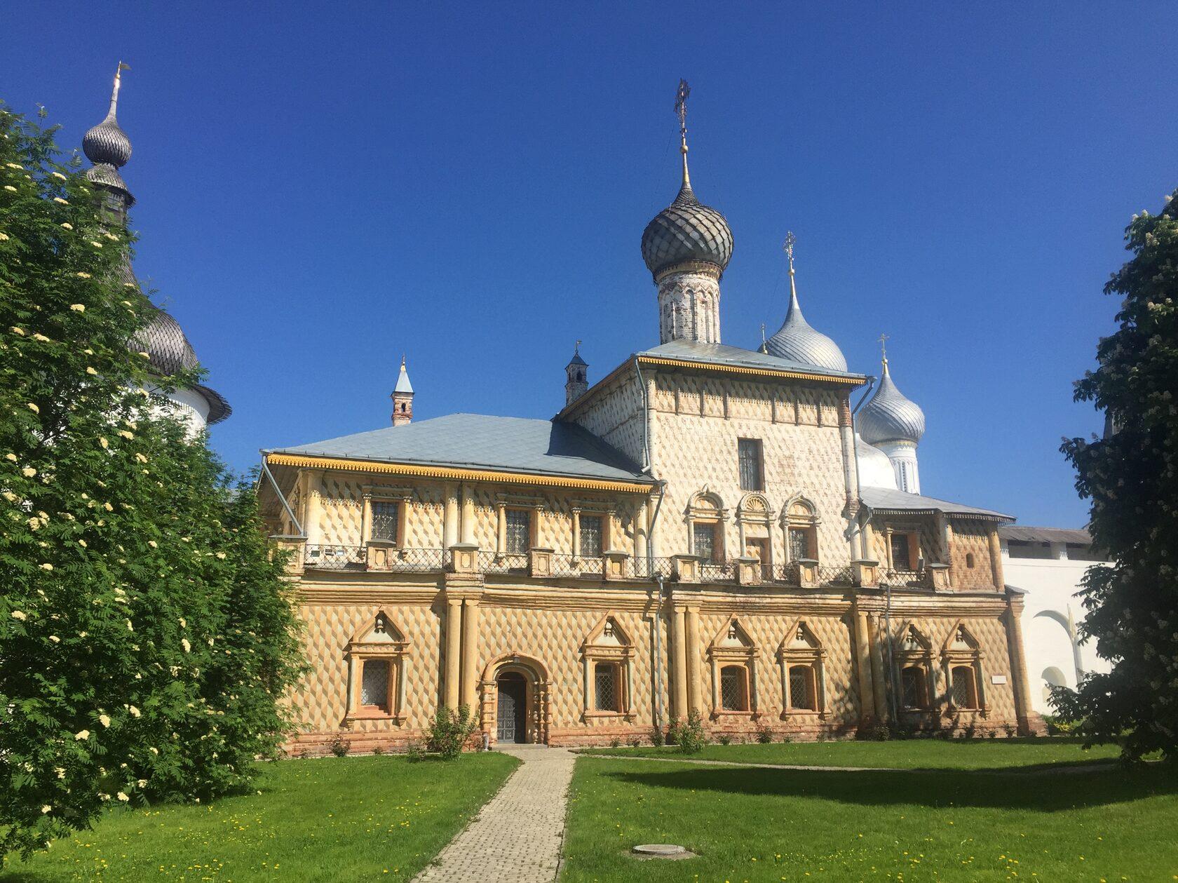 Церковь иконы Божией Матери Одигитрия в Кремле, Ростов Великий