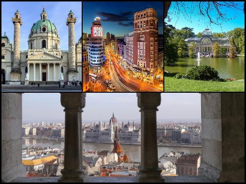Мадрид и Будапешт в январе