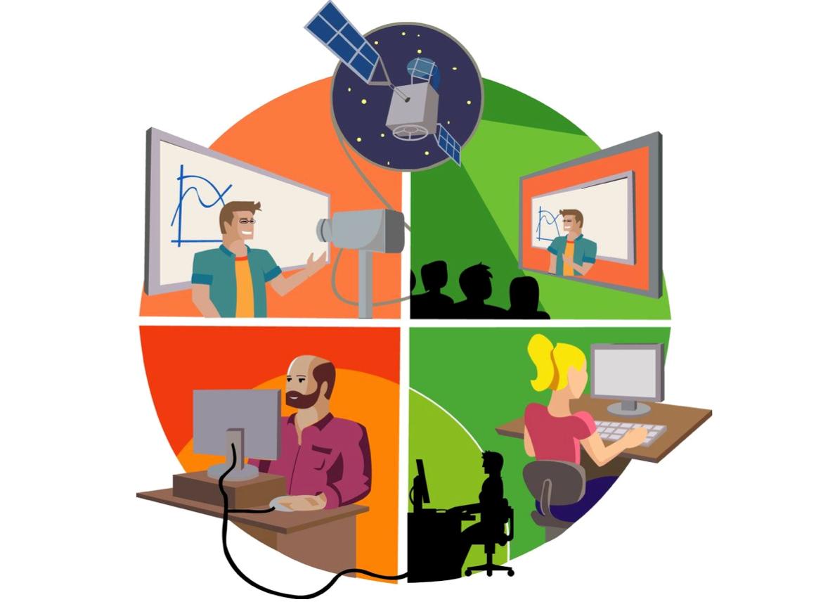 Образовательная платформа для школьников дистанционно-очной формы