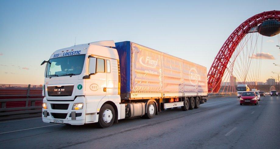 Импортные поставки грузов автотранспортом в Москву значительно превышают обратные экспортные грузопотоки (фото: ГК «Руста»)