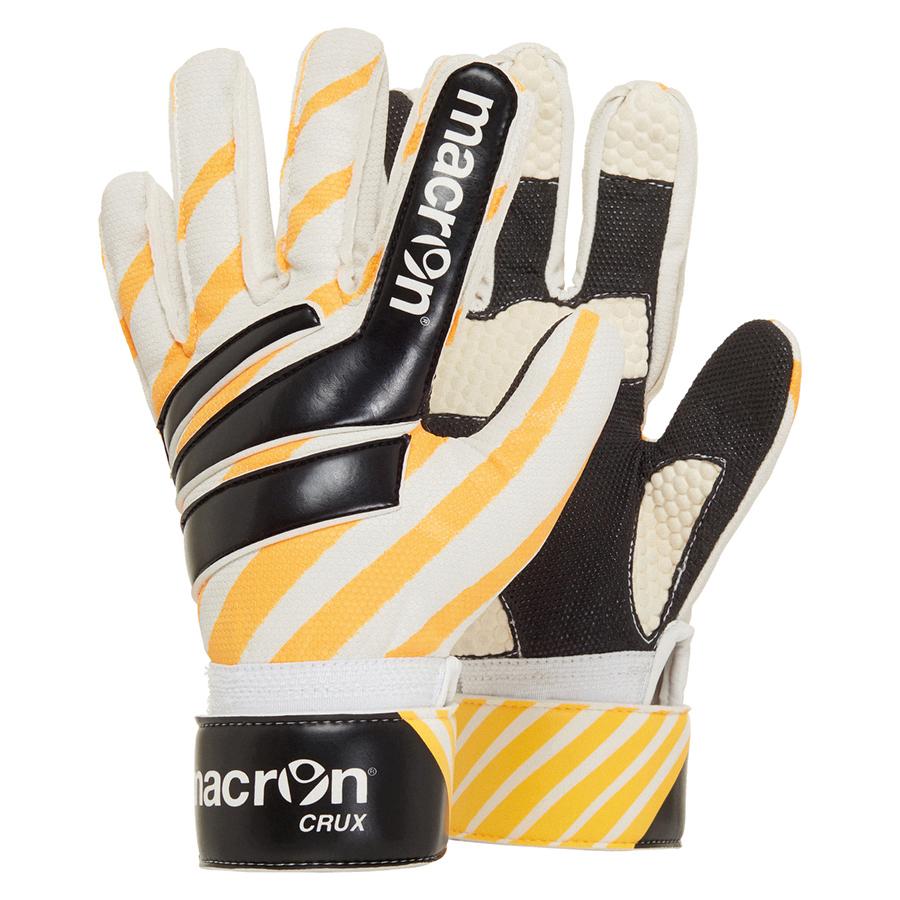 Детские вратарские перчатки, Macron CRUX, перчатки для футзала, перчатки для минифутбола