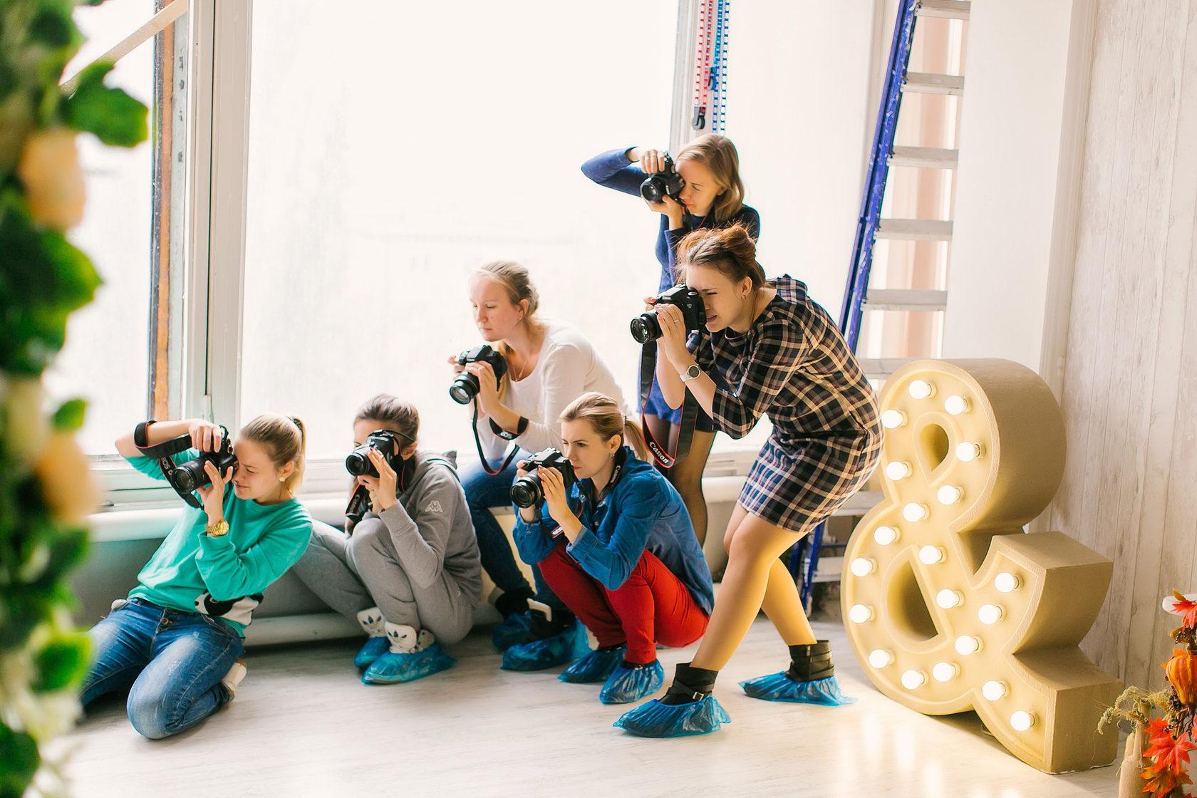 курсы для фотографов с нуля спб имеет огромное