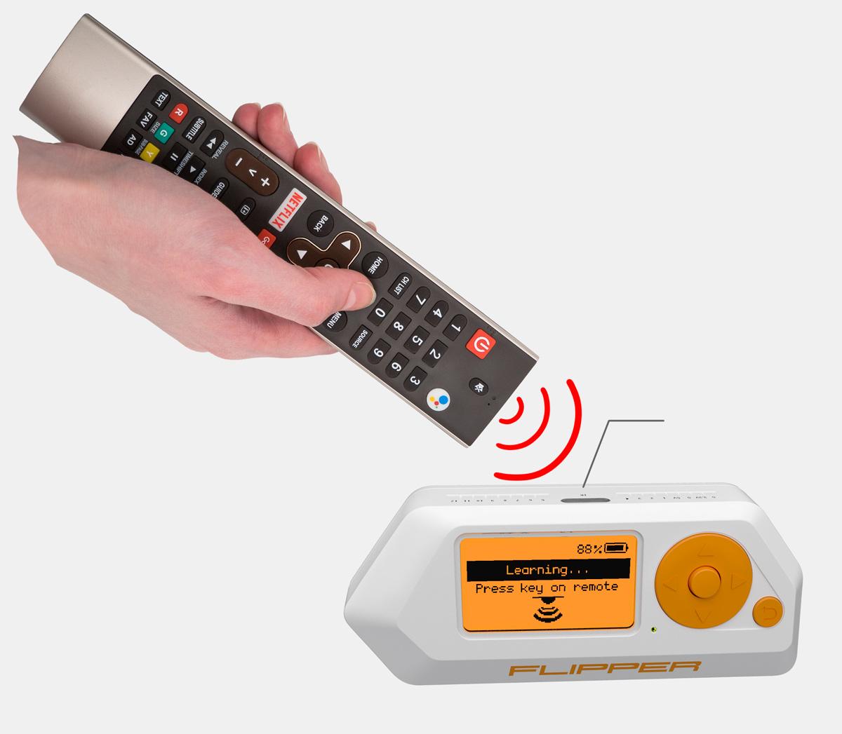 Flipper Zero infrared receiver