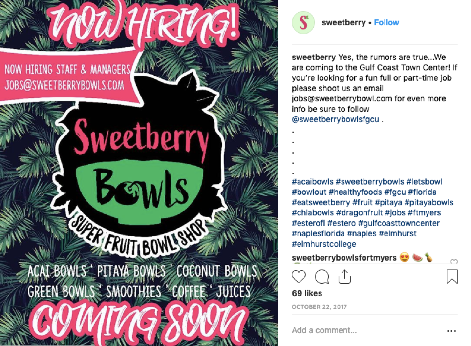 Sweetberry  apply