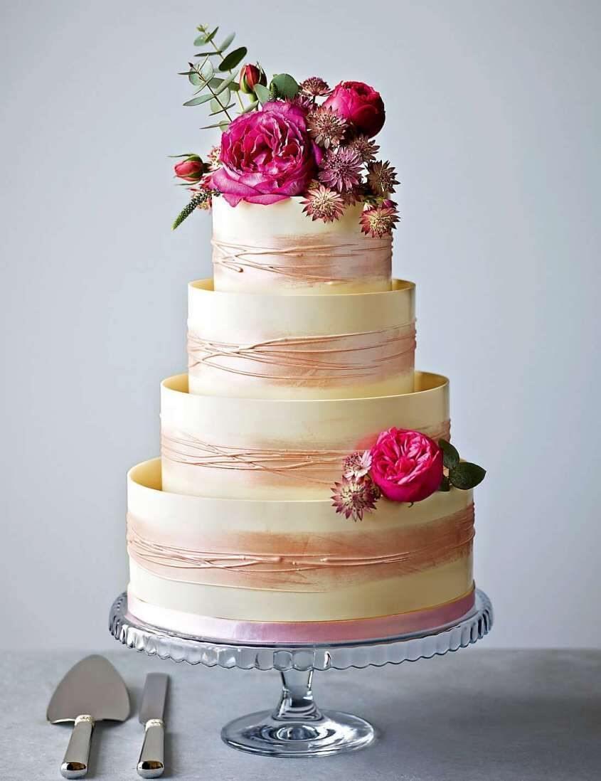 являюсь тем картинки свадебных тортов без мастики меня