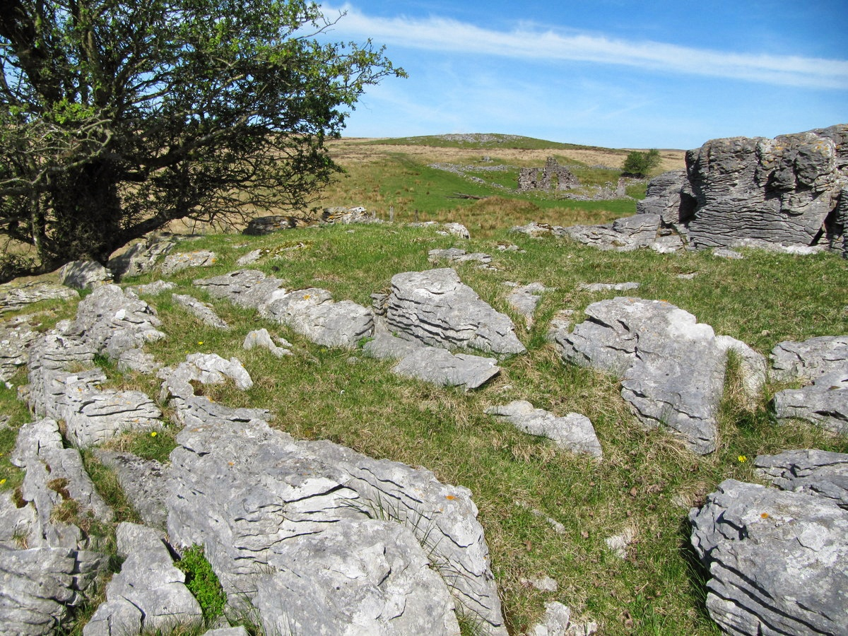 Stones used in filming at Cnewr