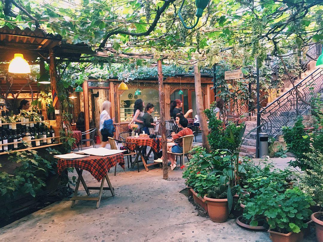 Ресторан Dalan Art Gallery, Ереван