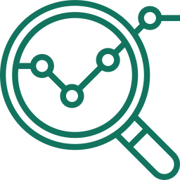 Business Intelligence icon - Digital Transformation hackabu