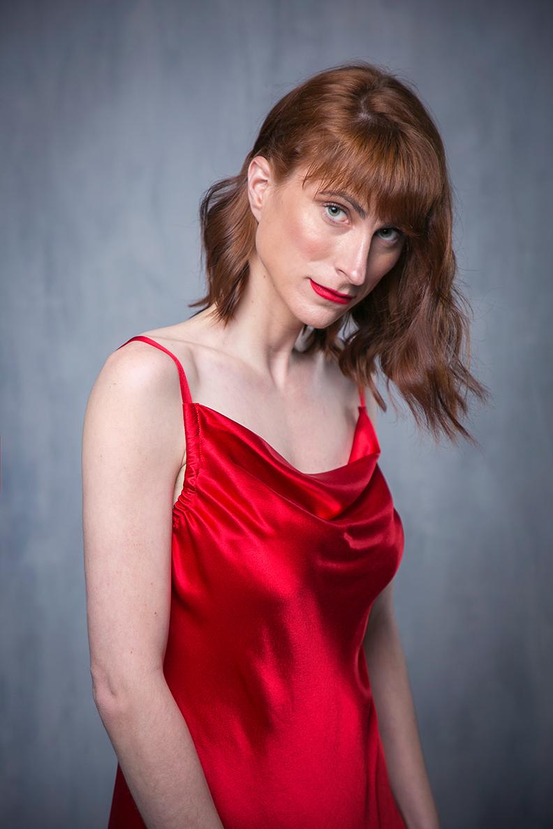 LARGO сукня-комбінація червона