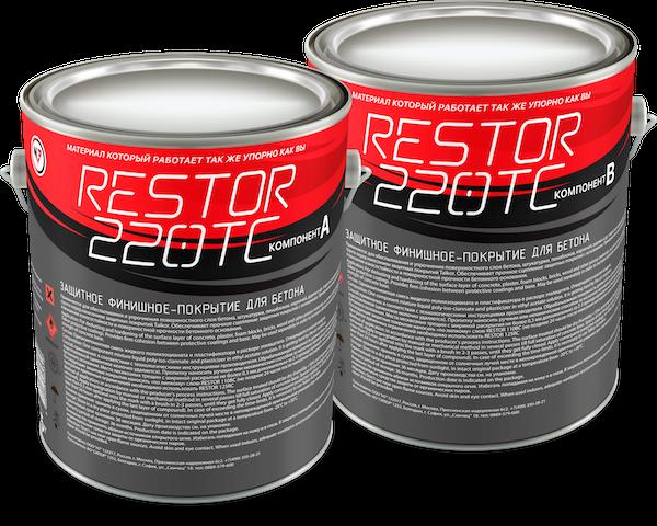 RESTOR 220TC Защитное финишное покрытие для бетона