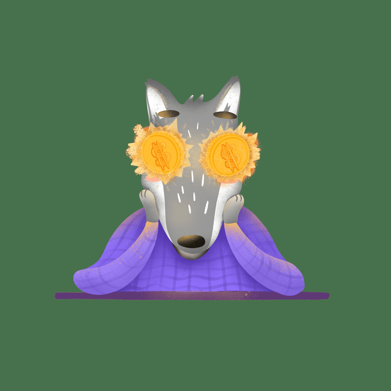 Staya Production иллюстрация волк