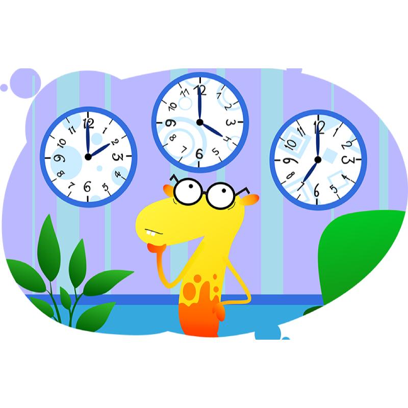 Семерыч учит разбираться в часах и минутах