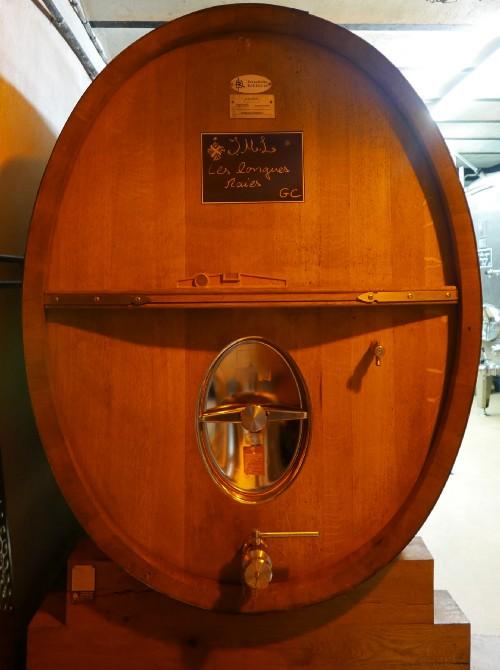 Champagne J.M. Labruyère oak barrels