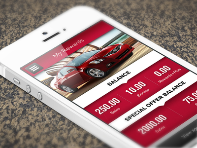 Nissan rewards app