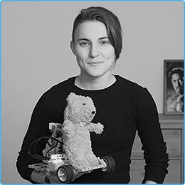 Анастасия Коковина – преподаватель по робототехнике