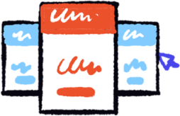 иллюстрация Единое окно для всех сообщений