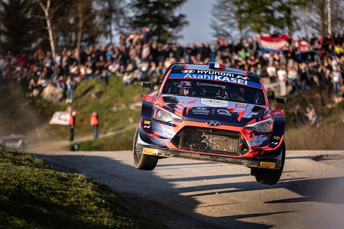 Пьер-Луи Лубе и Венсан Ландэ, Hyundai i20 Coupe WRC, ралли Хорватия 2021