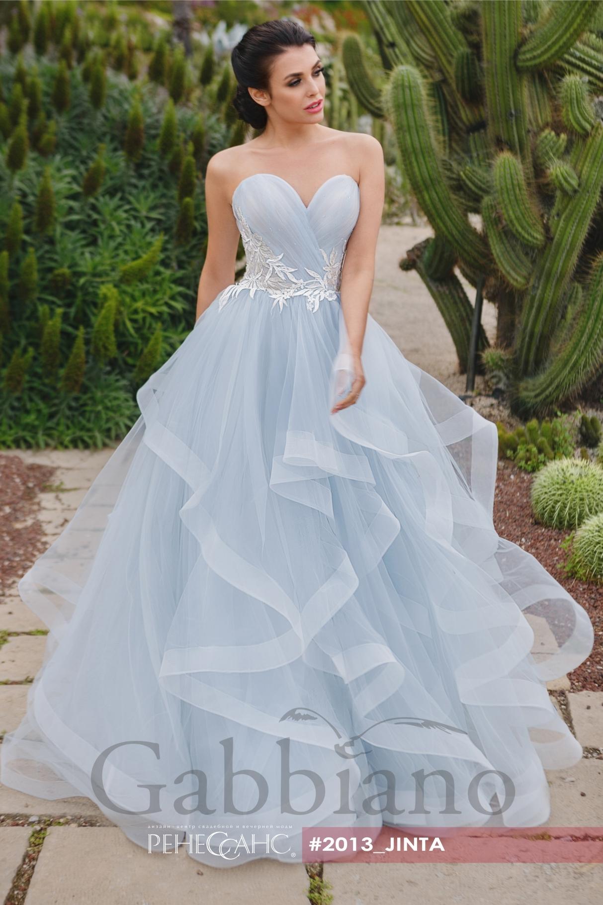 dbf653d5a36 2 фото. Jinta - Brand Gabbiano. Пышное свадебное платье ...