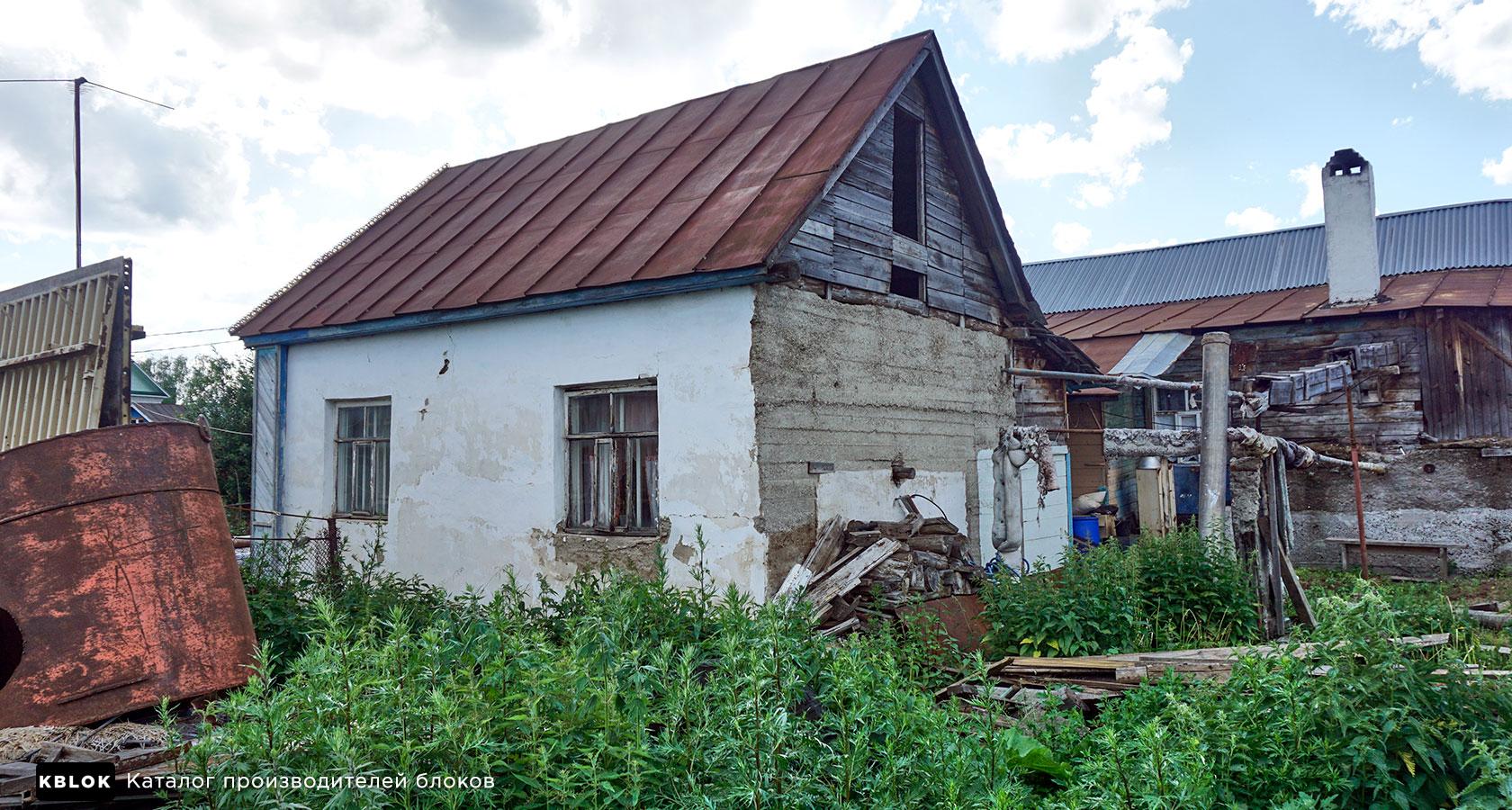 дом из монолитного опилкобетона