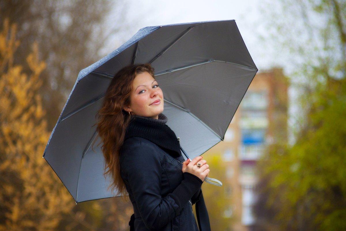 Зонт на время дождя в отеле NEW STAR