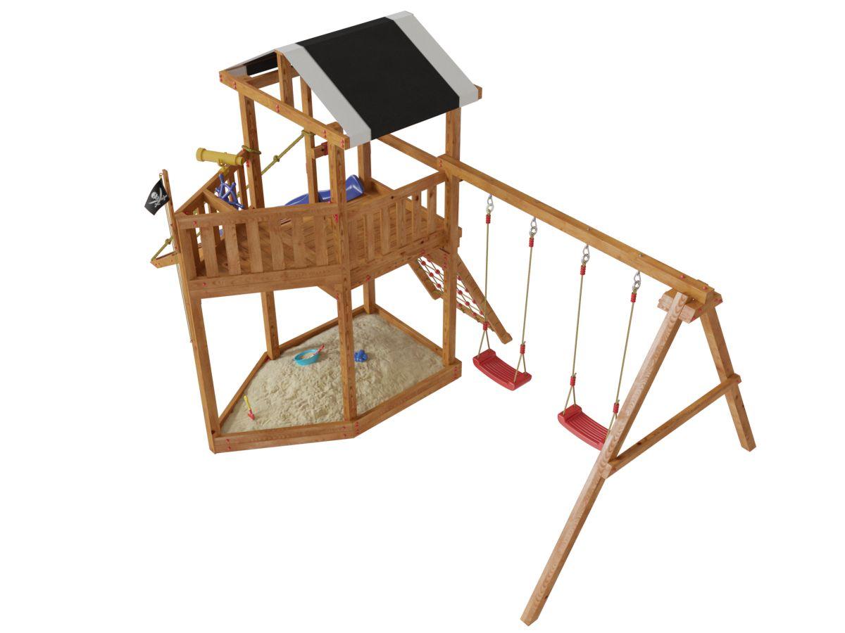 Самые низкие цены на детские спортивные комплексы для дачи.
