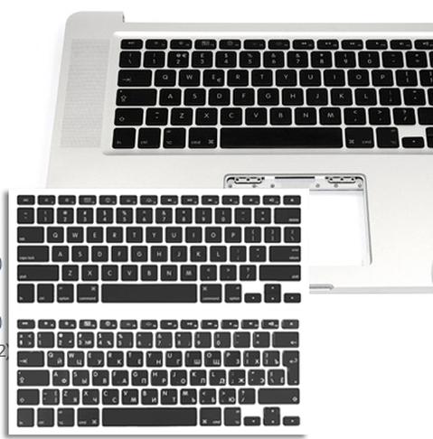 заменить клавиатуру на macbook