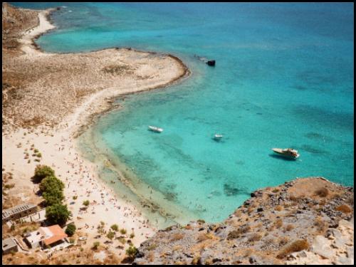 Крит и Родос в июле