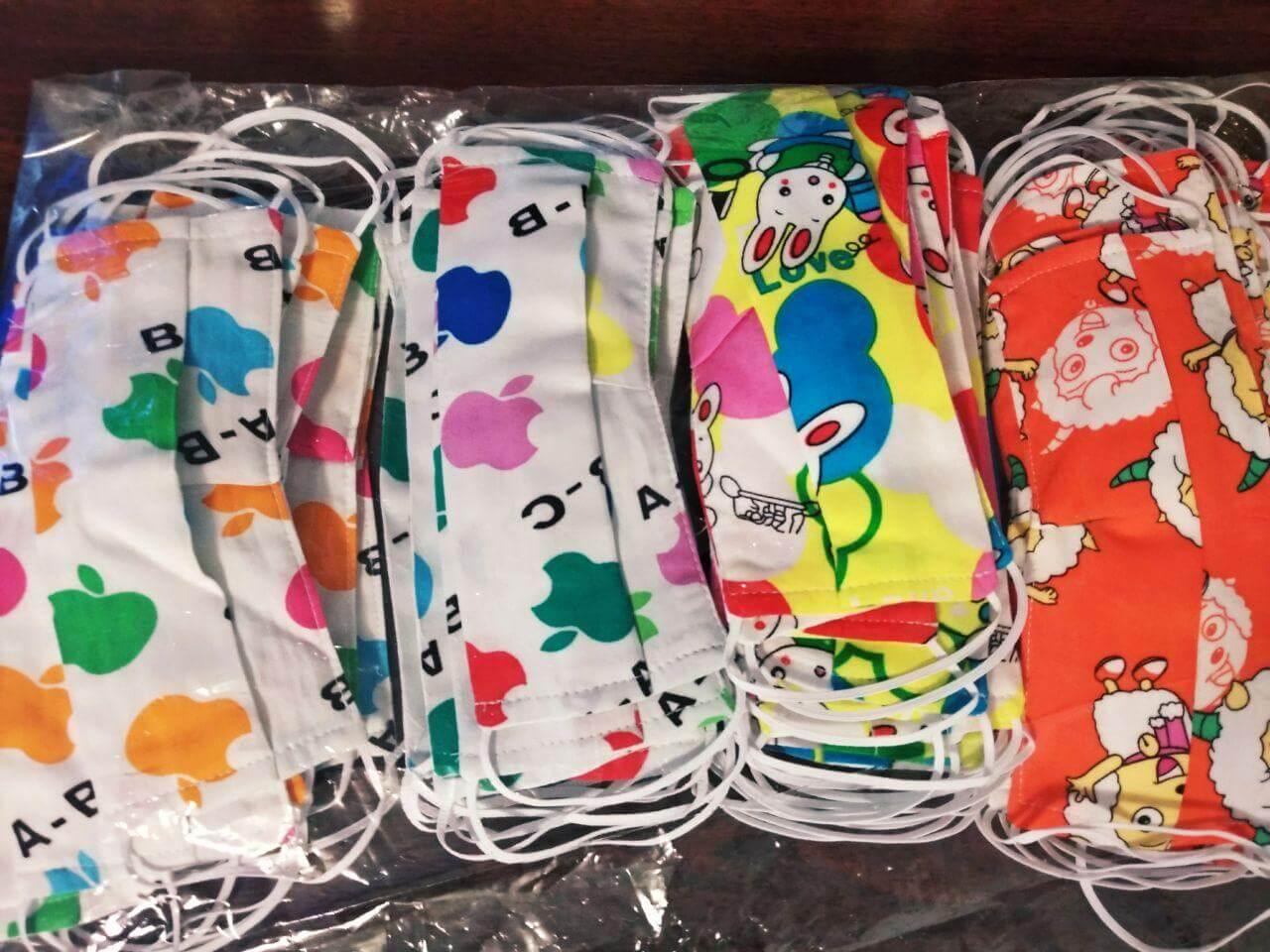 Барвисті маски для дитячої лікарні від Партії Шарія