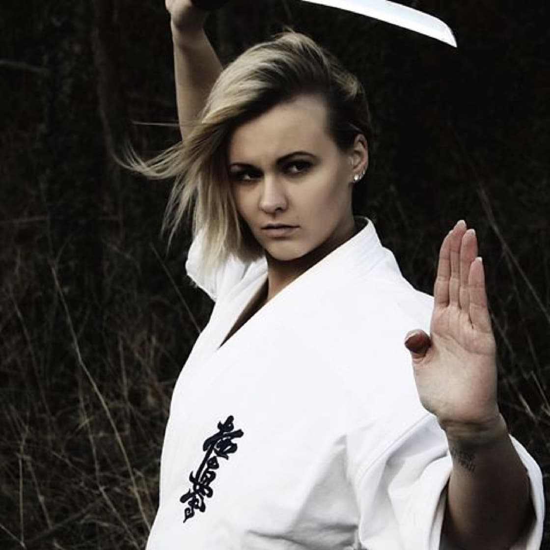Karate with Sword