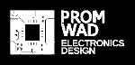 Белый логотип Promwad