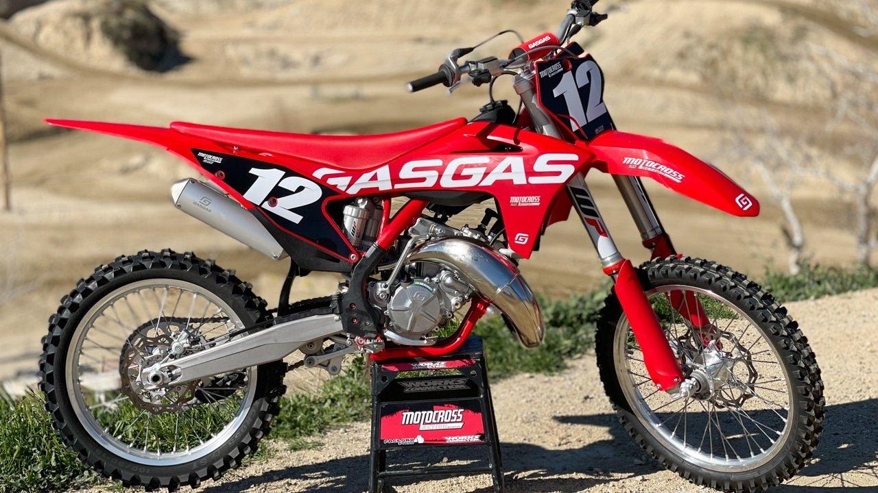 Первый выезд: GasGas MC 125 2021 года