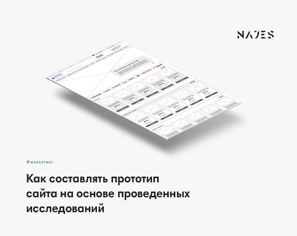 Гайд по созданию прототипа сайта от маркетолога