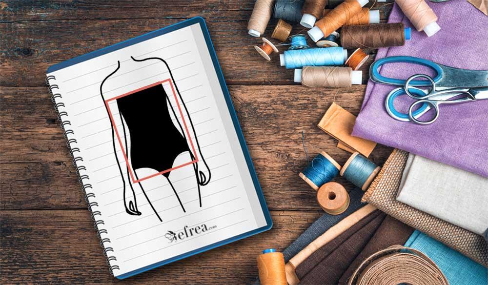 Избор на блузи, туники, пуловери, дамски сака, палта и рокли за дами с фит правоъгълник