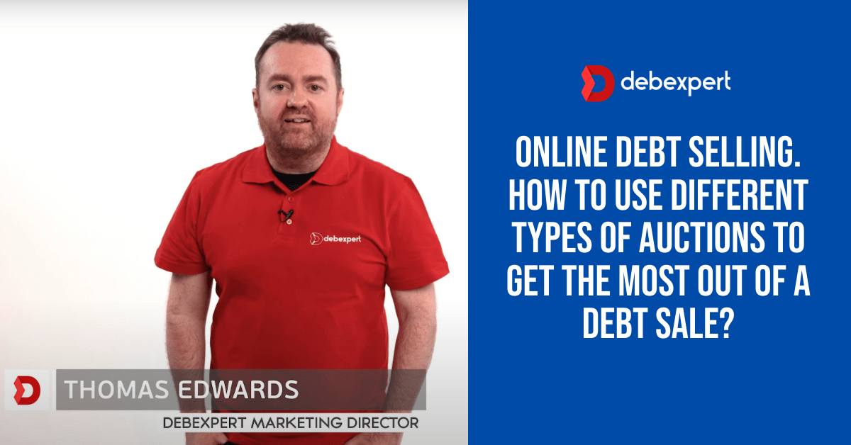 Online debt selling. How to use different types of auctions to get the most out of a debt sale