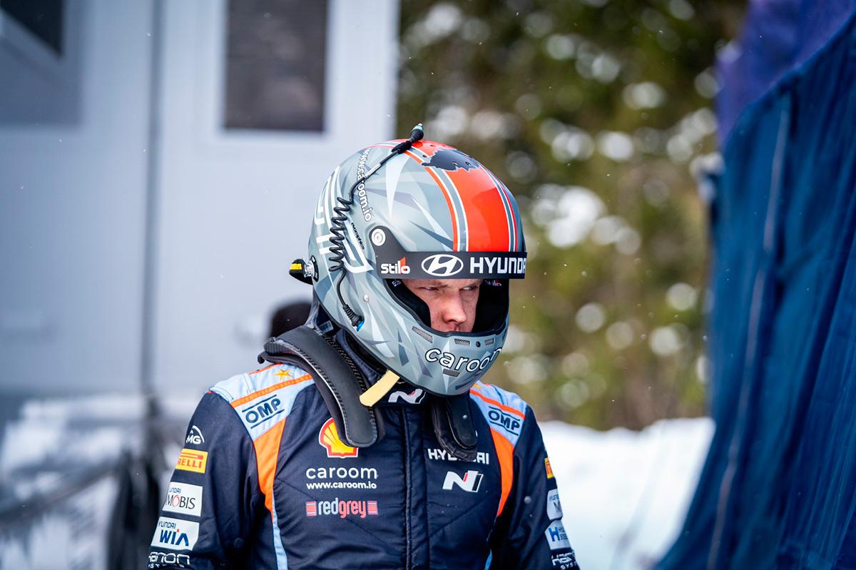 Отт Тянак (Hyundai Motorsport), Otepää Talveralli 2021