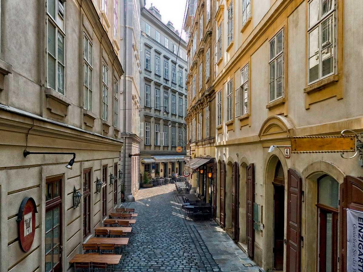 На старых улицах Вены, Австрия