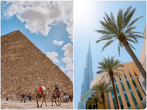 Каир и Дубай в июне