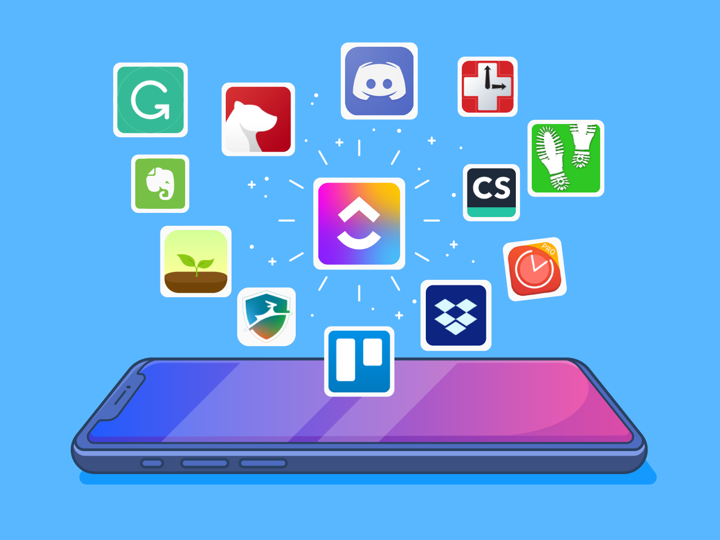 What productivity apps exist and where to create your own?