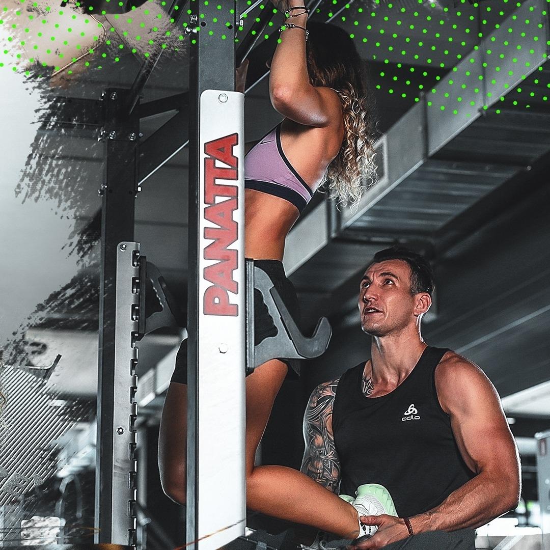 Мотивационный пост фитнес-клуба CLEVERSPORT
