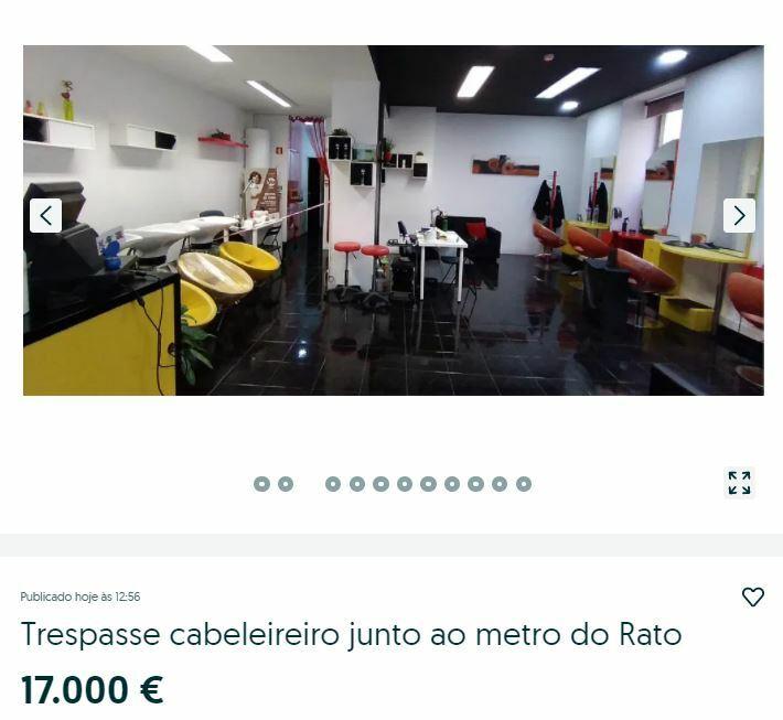 купить парикмахерскую в португалии