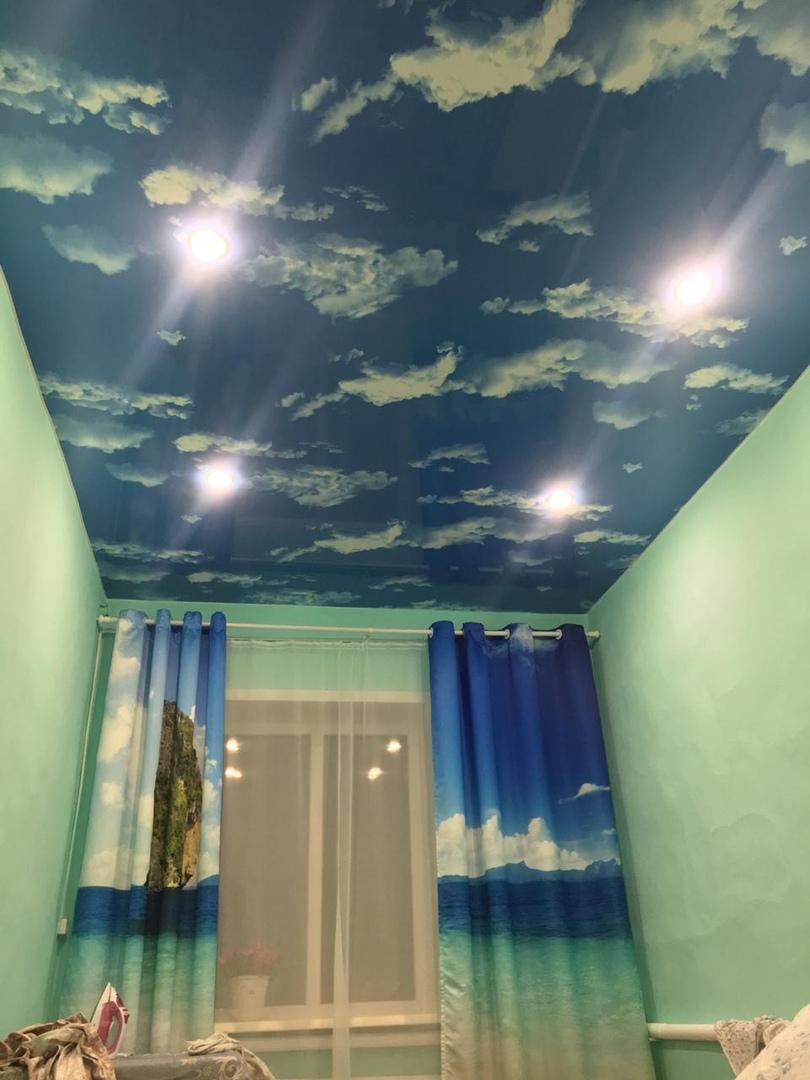 Натяжные потолки улан удэ фото
