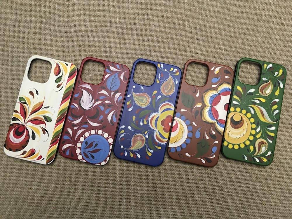 коллекция чехлов для iphone с ручной росписью