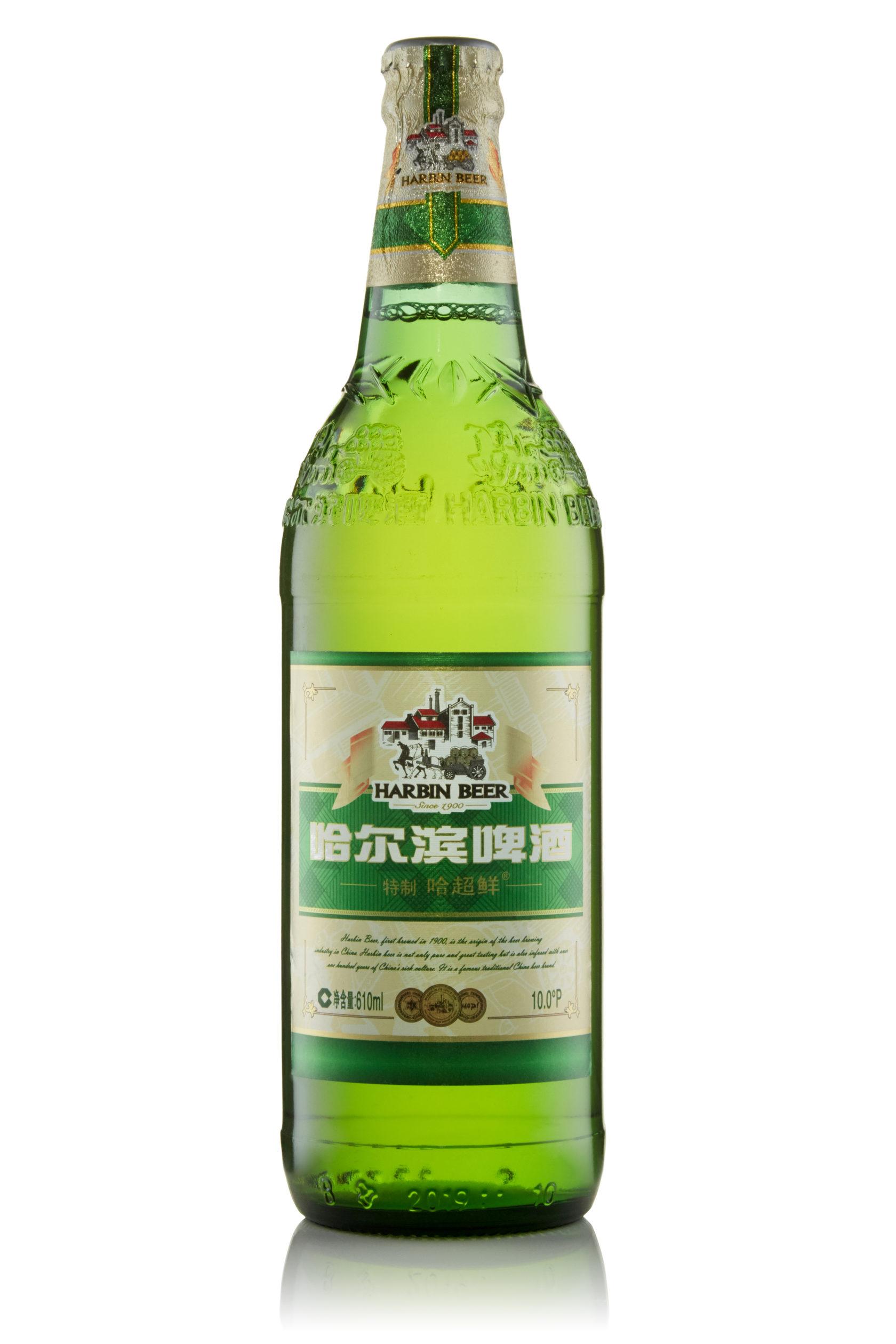 Купить пиво оптом Харбин Супер светлое 610 мл ст/б