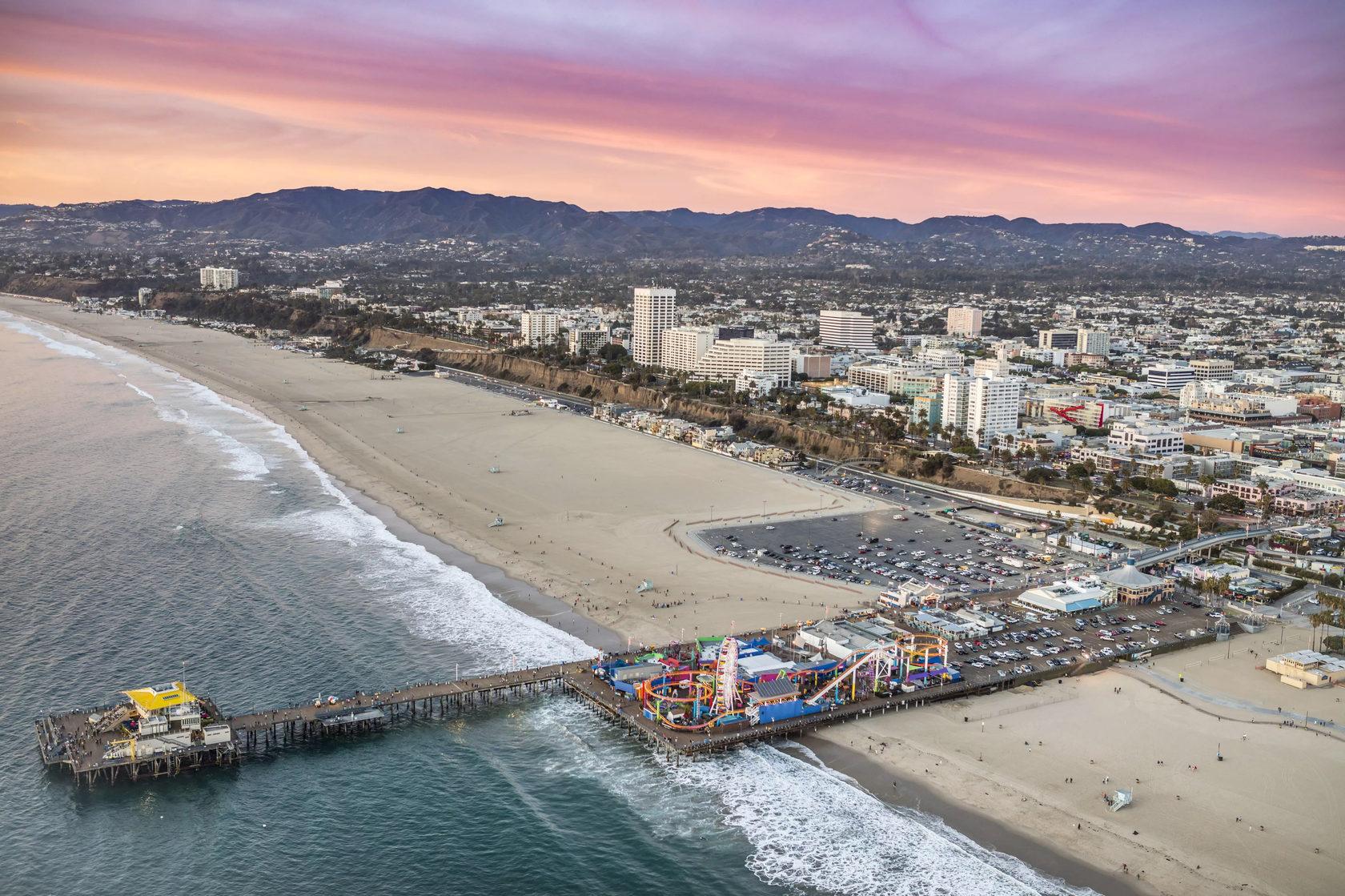 картинки пляж лос-анджелеса всегда