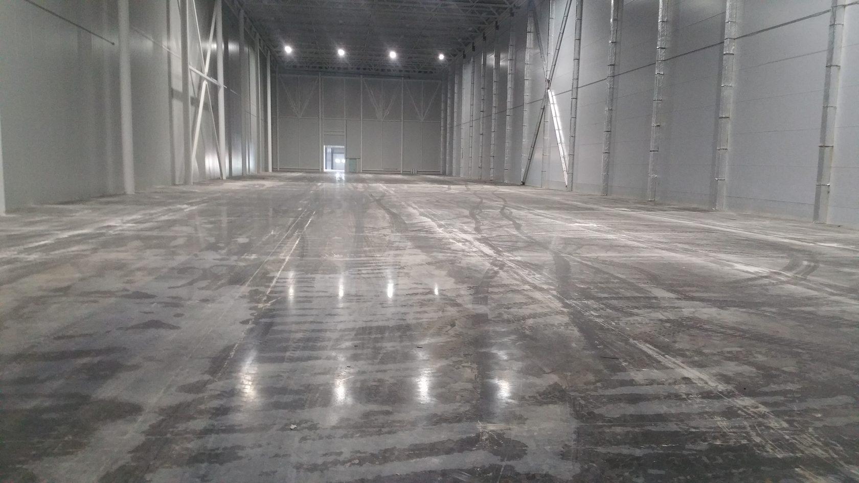 Средства по уходу за бетонным полом от компании Базис