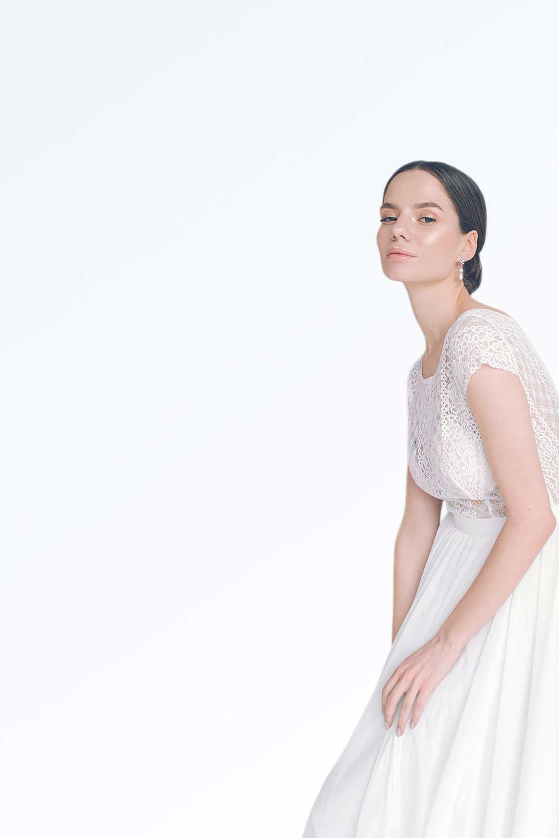 Свадебный образ стилиста Анастасии Котовой №2