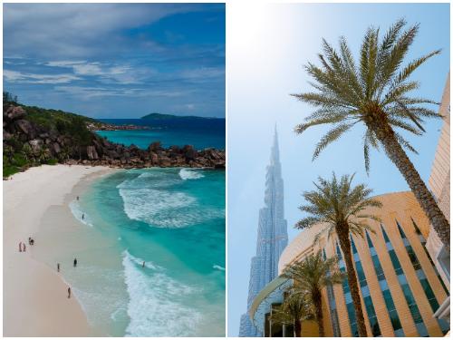 Сейшелы и Дубай в мае
