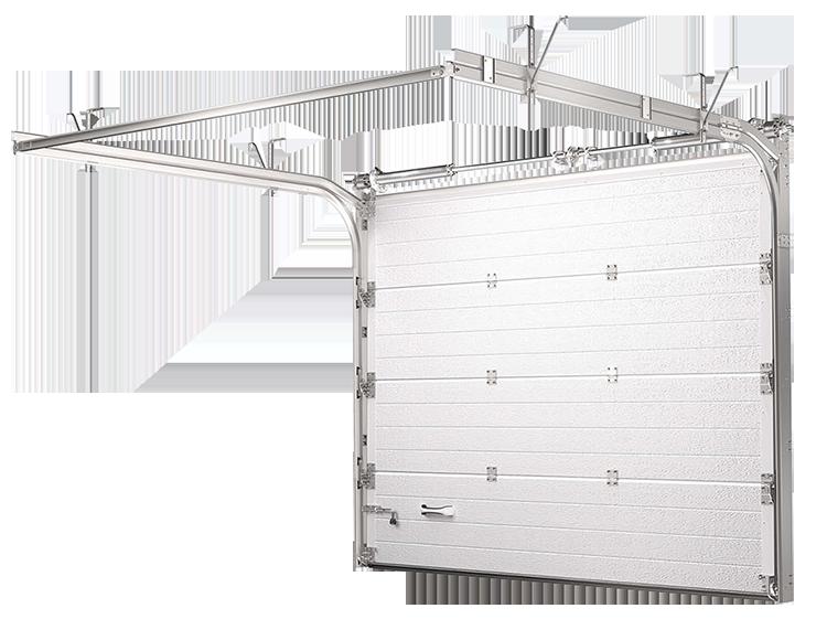 Гаражные ворота подъемно-секционного типа в Оренбурге