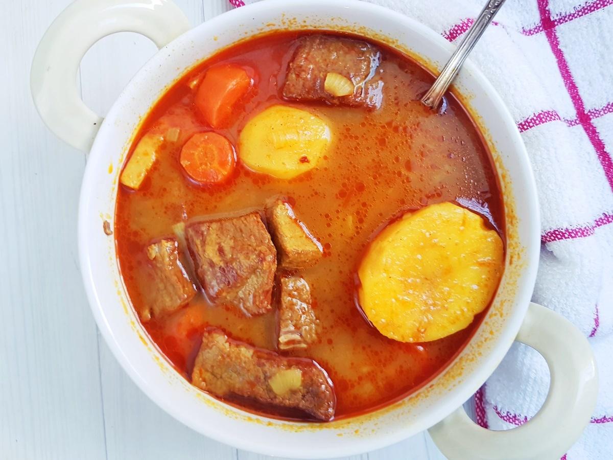 рецепты суп с мясом в картинках ночью