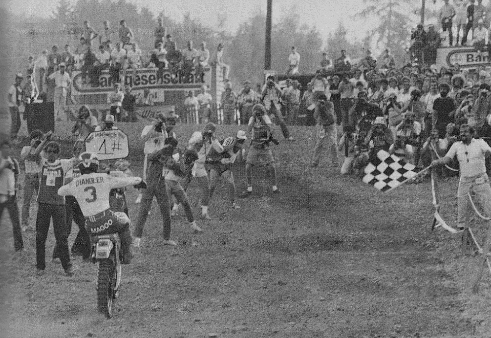 Эхо минувших гонок: Трофей Наций и Мотокросс Наций 1982 года